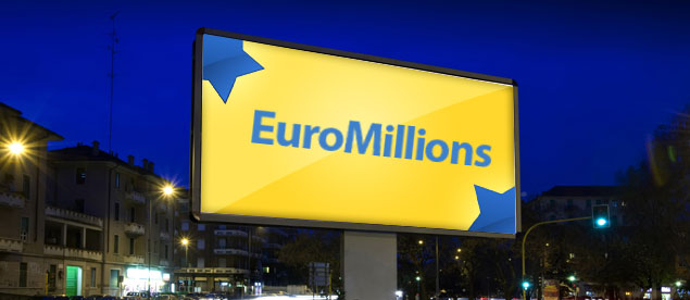 £95 Million (€118 Million) Jackpot at Stake in Tonight's EuroMillions Draw