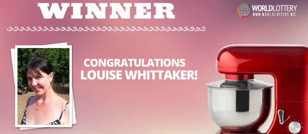 Win an Electric Mixer