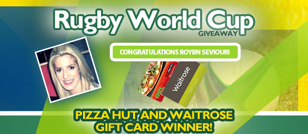 Rugby World Cup 2015 giveaway